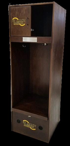 WA1 Wood/Laminate Locker