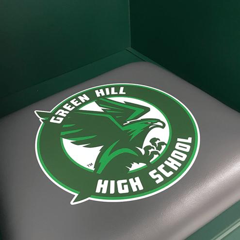 Green Hill cushion