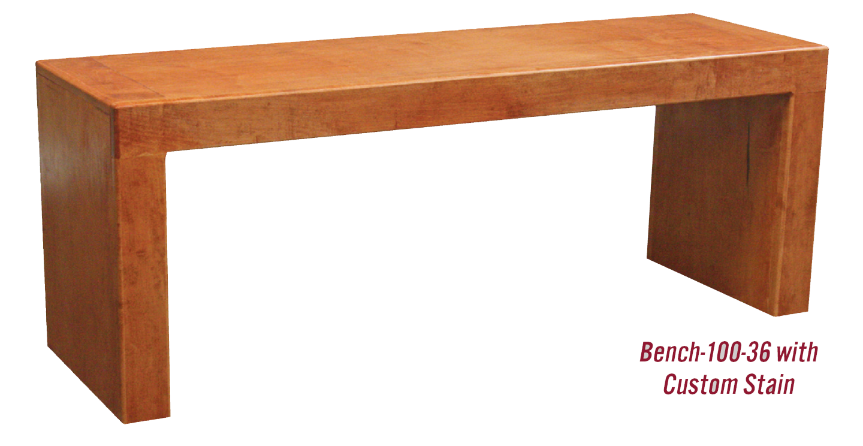 Wood Bench 100