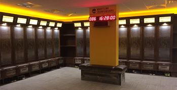 UNIVERSITY OF WYOMING WRESTLING LOCKERS