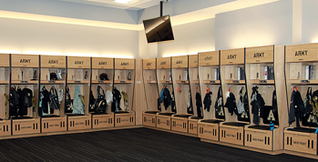 ARMY WEST POINT CUSTOM WOOD LOCKERS