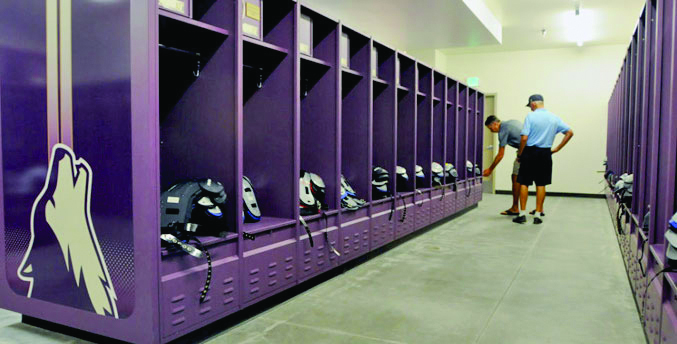Steel Locker - College of Idaho - Caldwell, ID