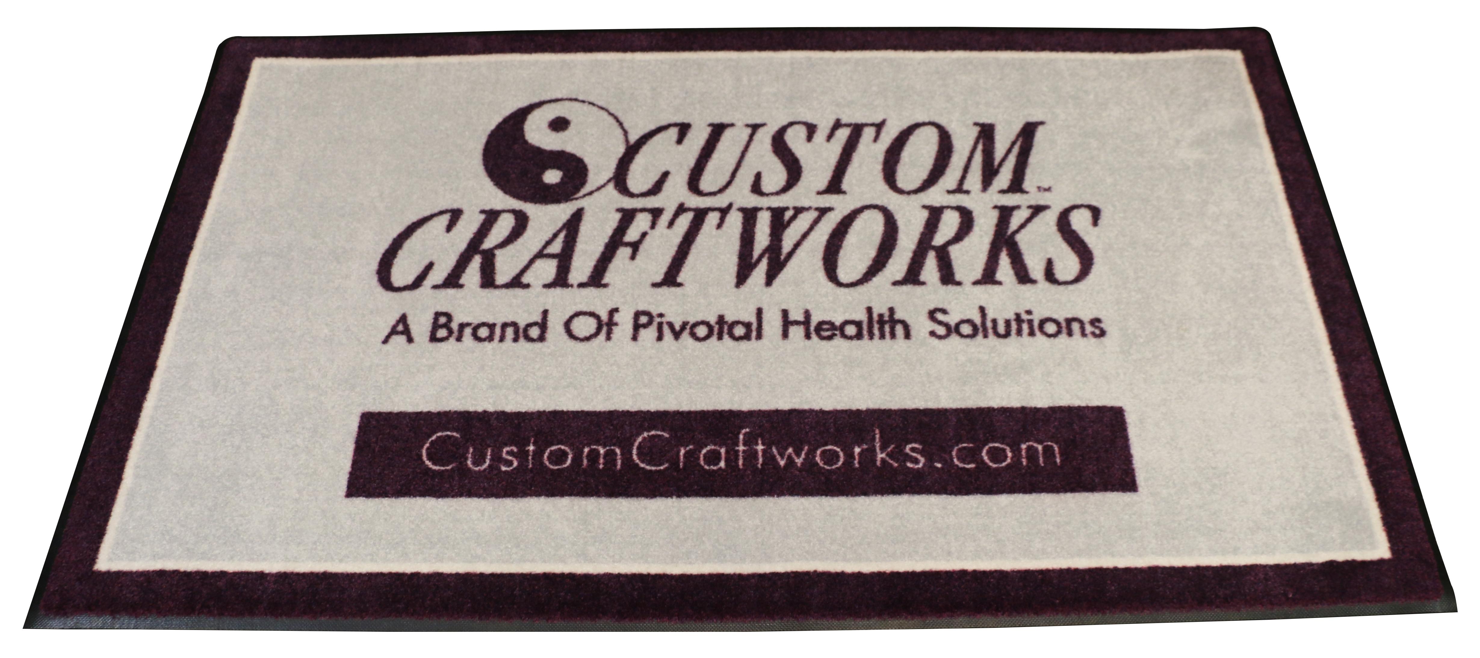 Custom Craftworks-(logo rug)