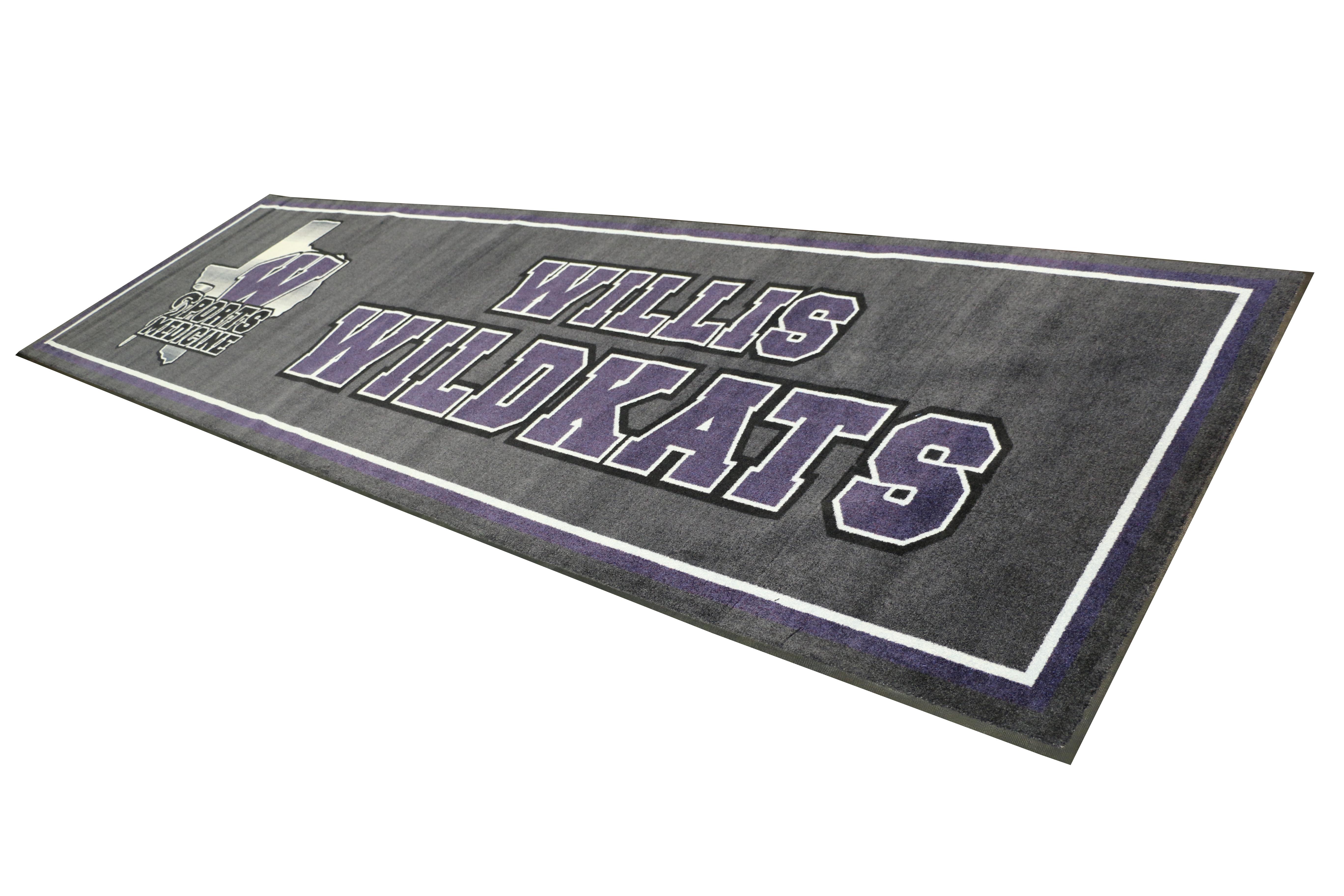 Willis HS-(logo rug)